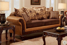 Load image into Gallery viewer, Isabella Camel Brown Living Room Set