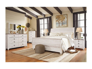 Willowton 5pc Queen Bedroom Group by Signature Design by Ashley