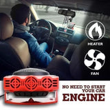 2 In 1 Auto Car Portable Heater And Windshield Defroster