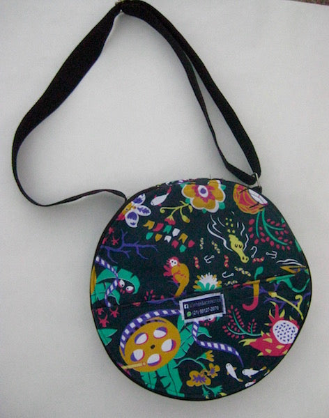 "Colorful pandeiro bag for 10"" pandeiro."