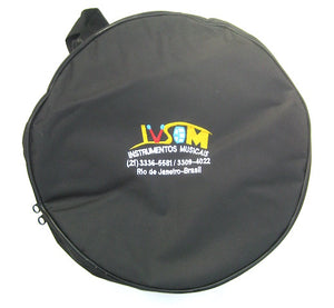 "IVSOM bag for repinique. 12"" drum bag. Padded nylon, black drum case."