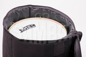 Charuto drum bag with drum inside.