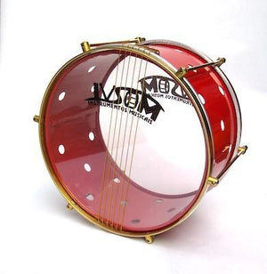 "IVSOM Caixa, 6 strings, powder coated shell with holes, 12"" x 7.5"""