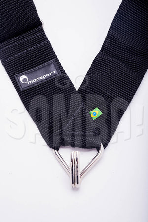 Samba drum strap for shoulder with one hook for rio style samba.