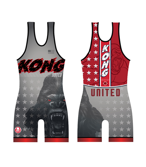 Team Kong United Singlet Red