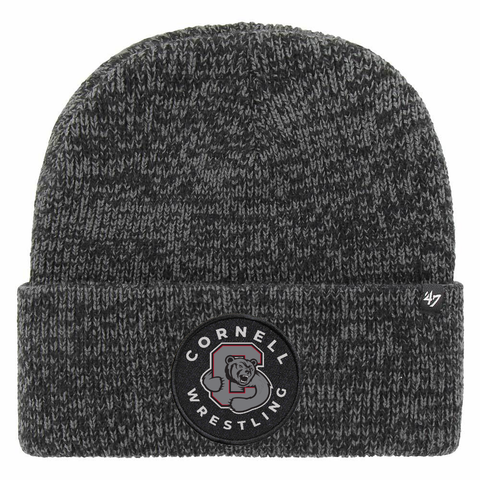 CORNELL WRESTLING BRAIN FREEZE KNIT BEANIE