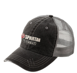 SPARTAN Combat Distressed Trucker Hat