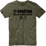 SPARTAN COMBAT FIGHTER SPIRIT TEE Olive