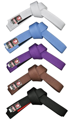 Jiu-Jitsu Rank Belts
