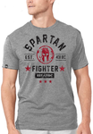 SPARTAN - Fighter Tee Gray