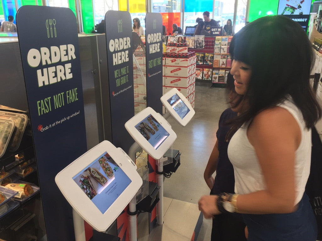Whole Foods 365 using Lilitab Kiosks