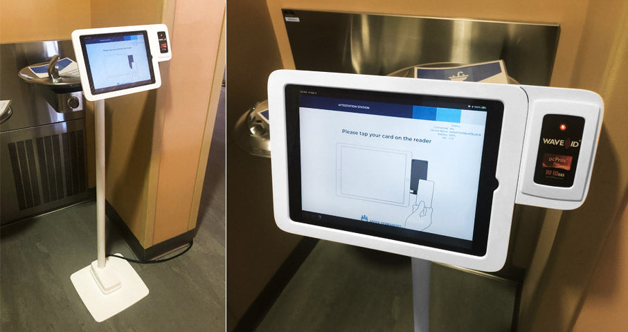Kaiser Permanente Deploys Custom Lilitab Kiosks for Employee Touchless Check-In