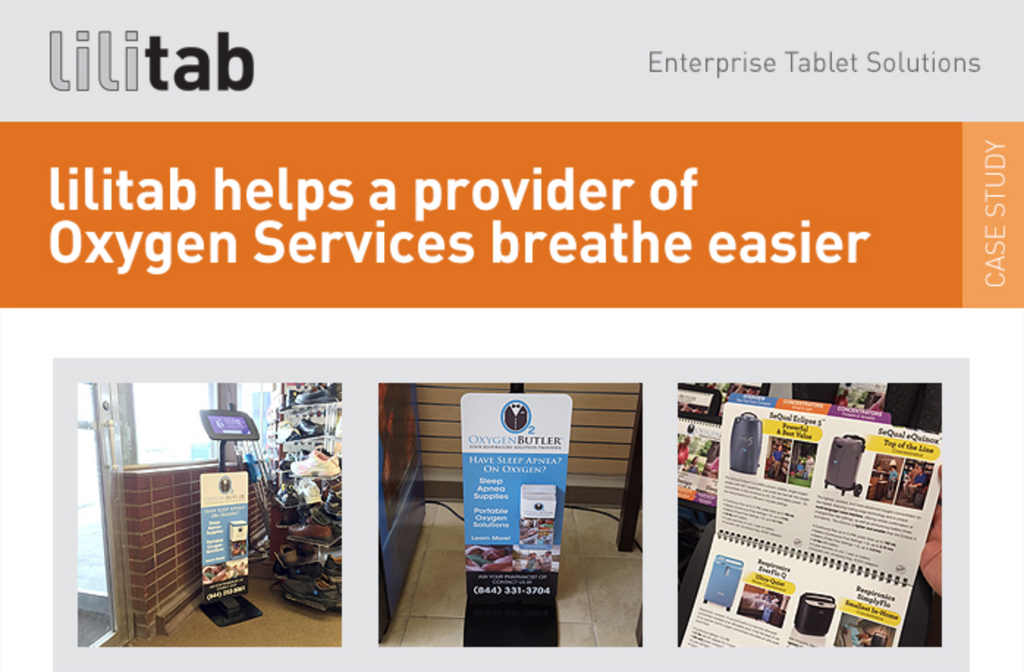 Lilitab Helps a Provider of Oxygen Services Breathe Easier