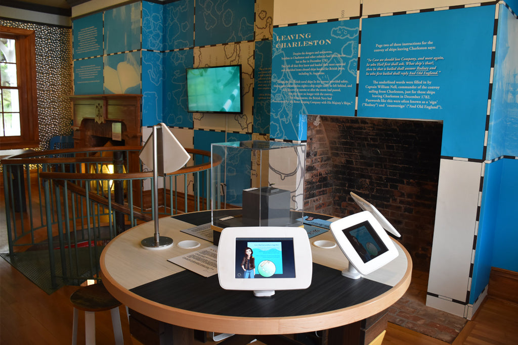 Lilitab Kiosks Help Museum Visitors Connect to their Maritime Past