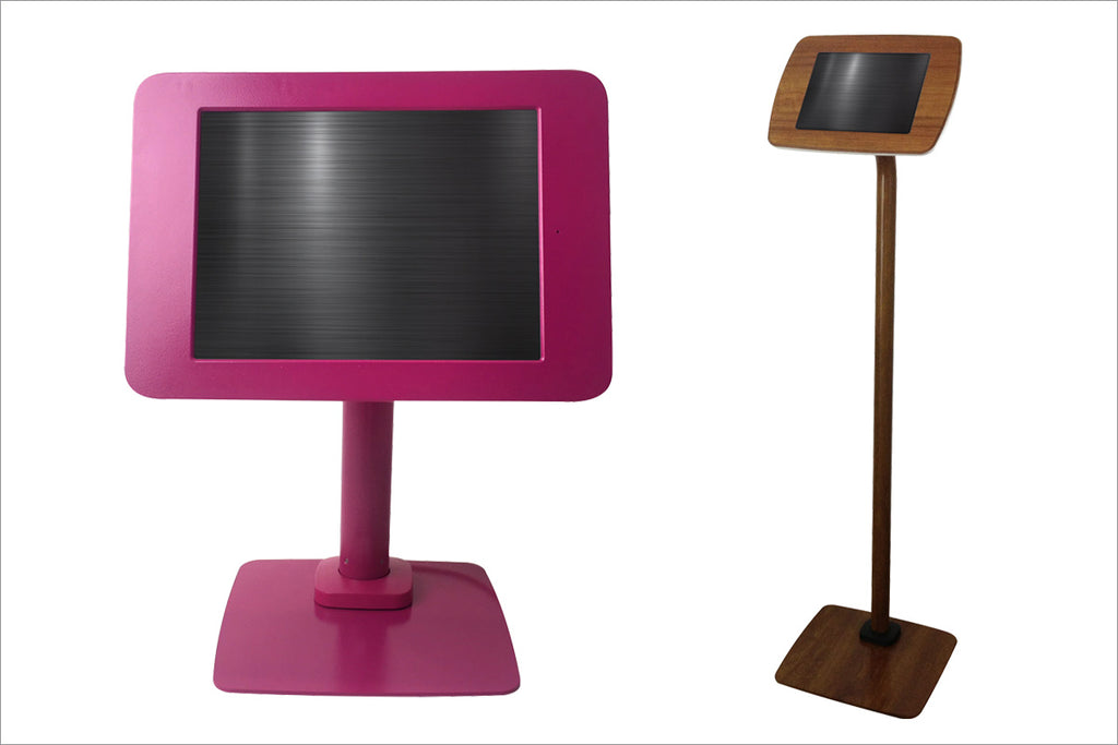 Custom Color Tablet Kiosks
