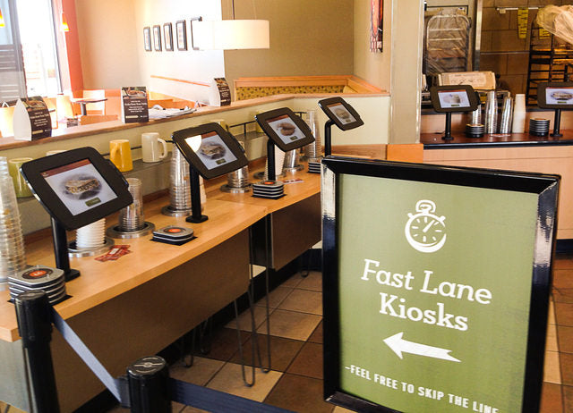 Consumer demand for restaurant kiosks is on the rise