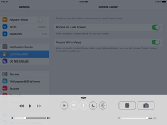 how to stop the ipad from showing volume notiforcations