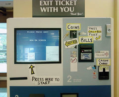 example of bad kiosk messaging