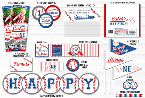 Baseball Complete Party Package