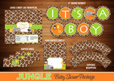 Jungle Baby Shower Party Package - 18 items!