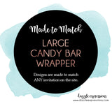 Large Candy Bar Wrapper