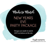 New Years Eve Party Printable Decor