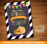 Pumpkins and Pancakes Birthday Invitation - FREE thank you card
