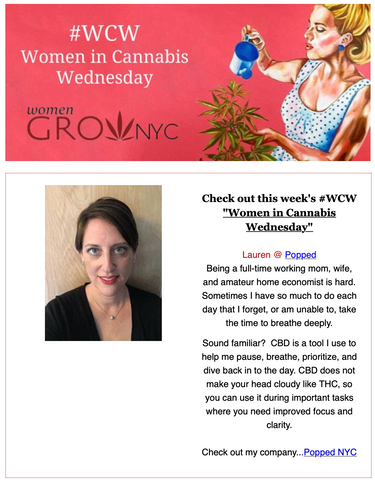 Women Grow: Women in Cannabis Wednesday