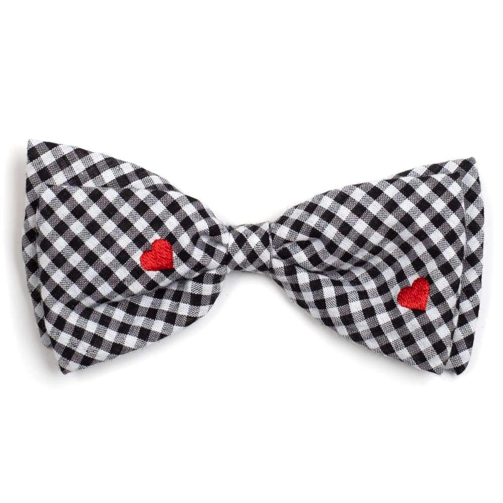 GINGHAM HEARTS BOW TIE Bow Tie