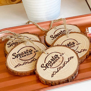 Sparta Candle Co. Ornaments