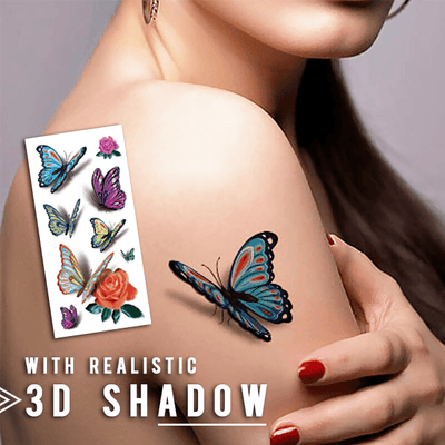 Trendy 3D Temporary Body Stickers