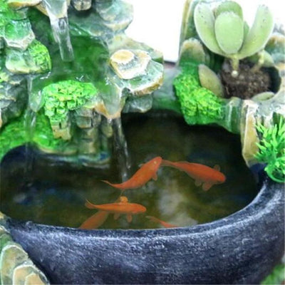 Mystical Garden Tabletop Fountain