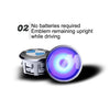 CoolHub ™ Magnetic Floating LED Wheel Cap
