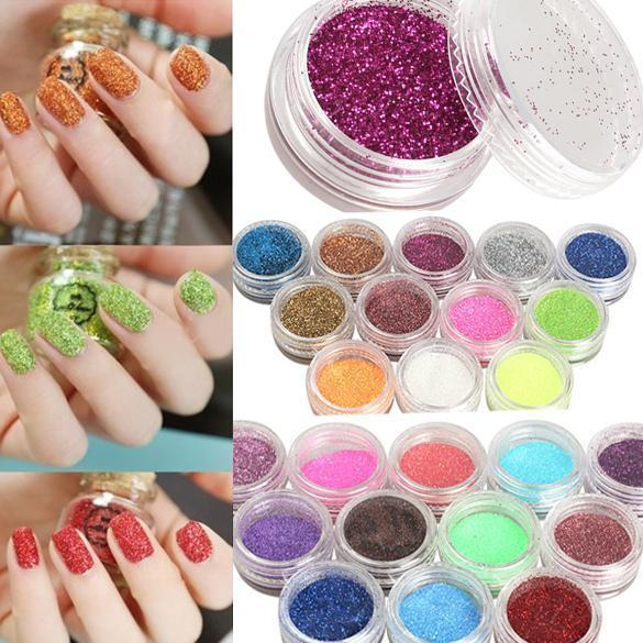 24 Color 3D Nail Art Decoration