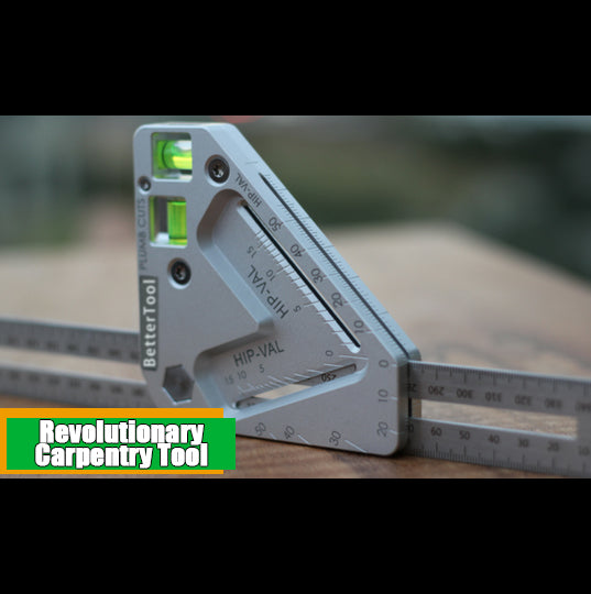 Revolutionary 10-in-1 Carpentry Tool