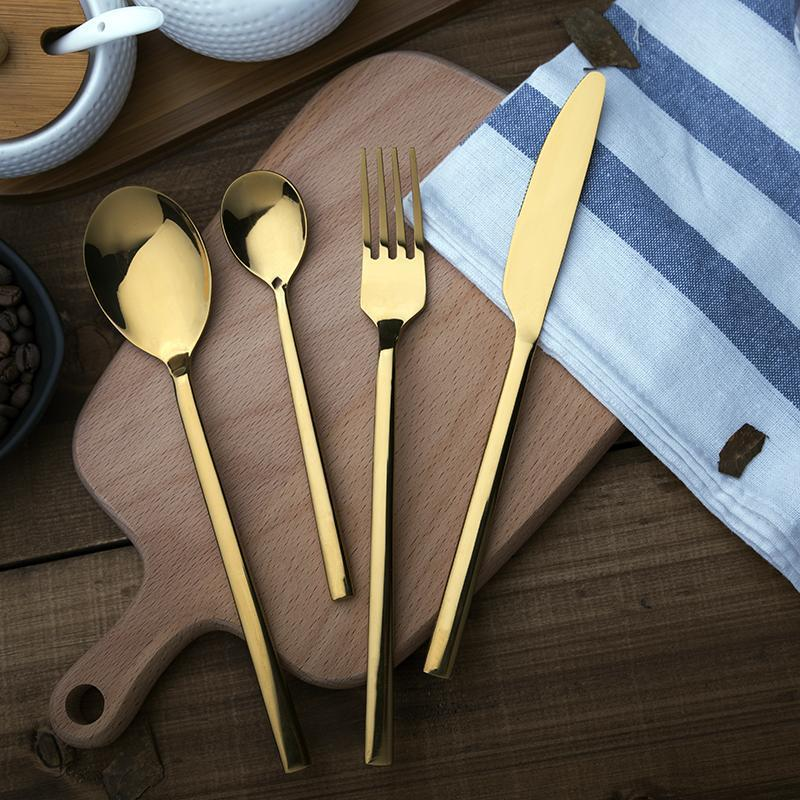 4PCS Stainless Steel Cutlery