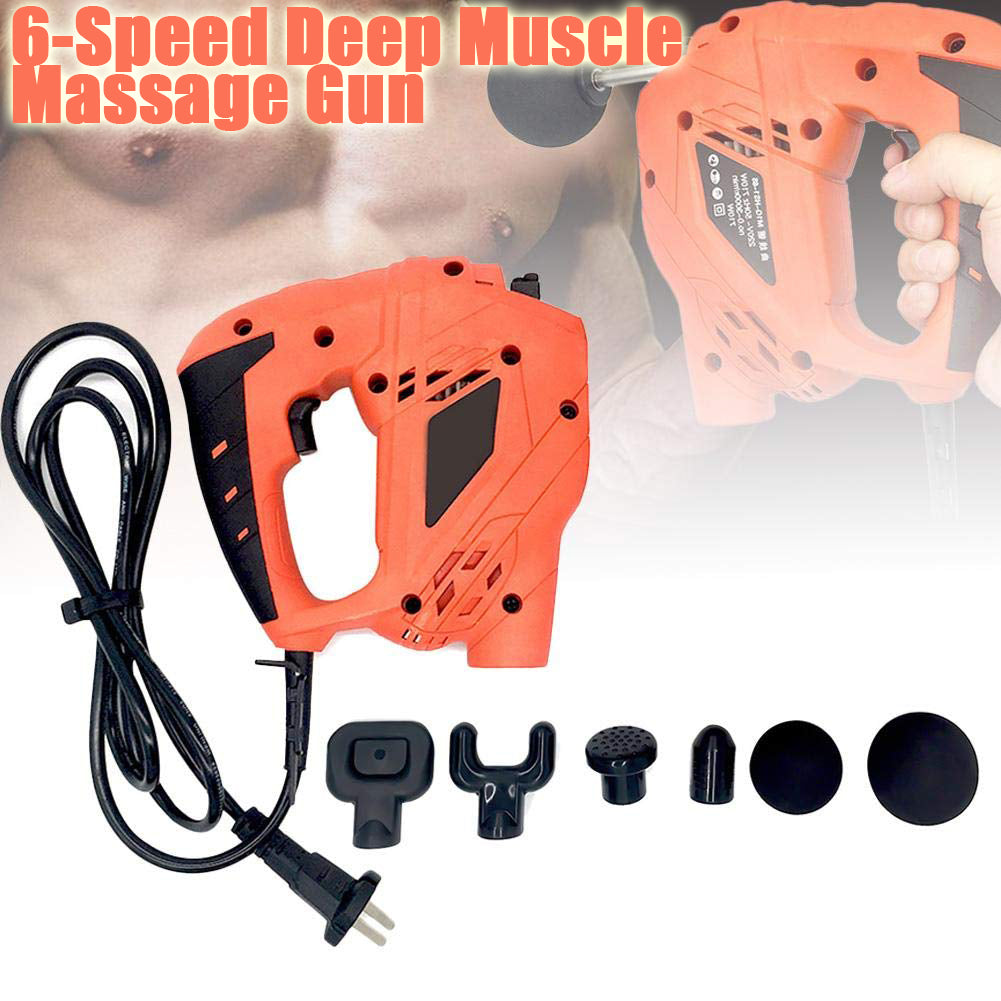 6-Speed Deep Muscle Massage Gun