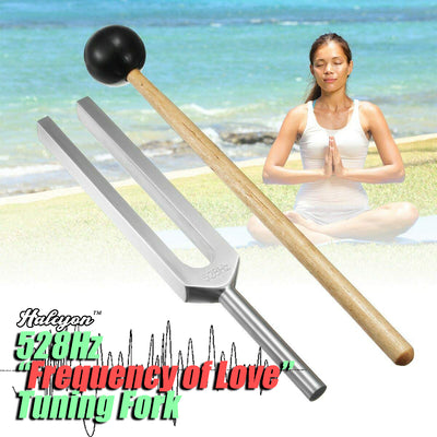 "Halcyon™ 528Hz ""Frequency of Love"" Tuning Fork"