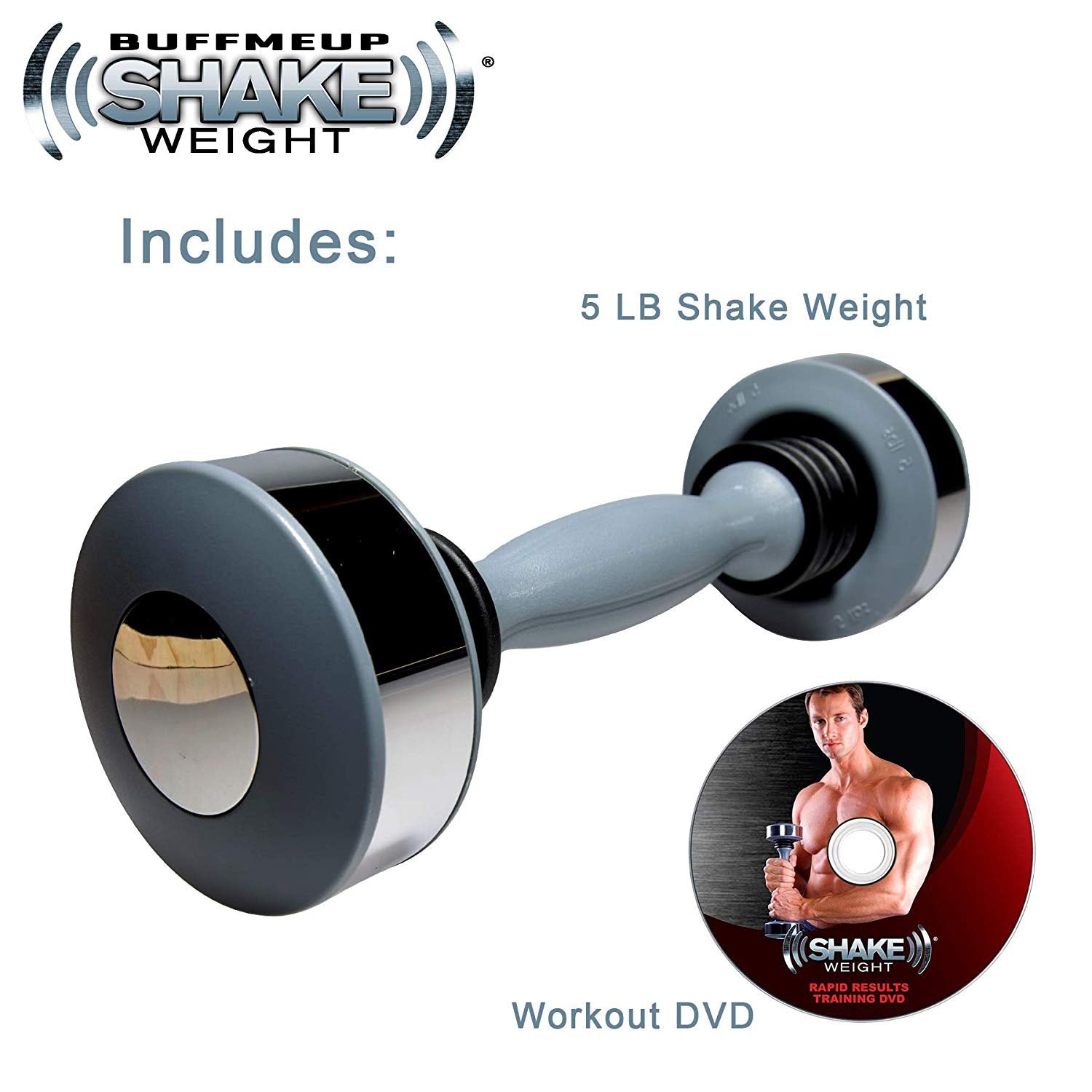 BuffMeUp™ Shake Weight Dumbbell