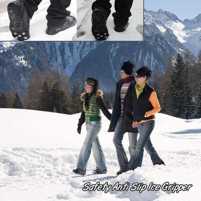 Silicone Non-Slip Snow Shoe Grip