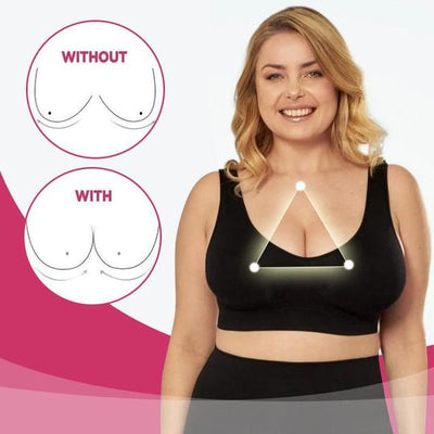 Plus-Sized Ice Silk Bra