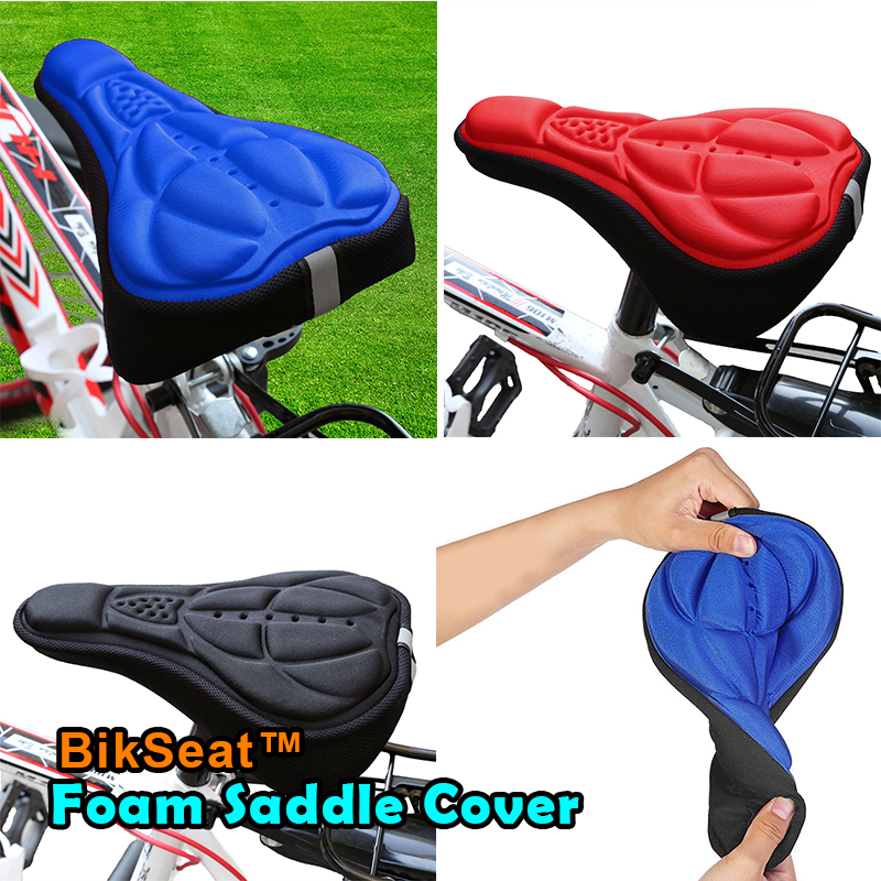 BikSeat™ Foam Saddle Cover