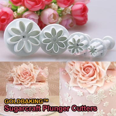 Goldbaking™ Sugarcraft Plunger Cutters