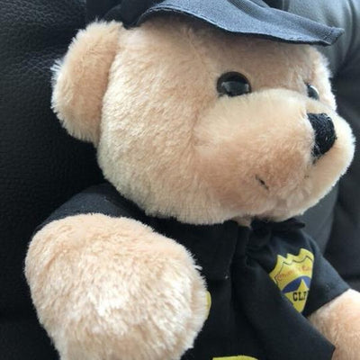 Dancing Police Officer Teddy