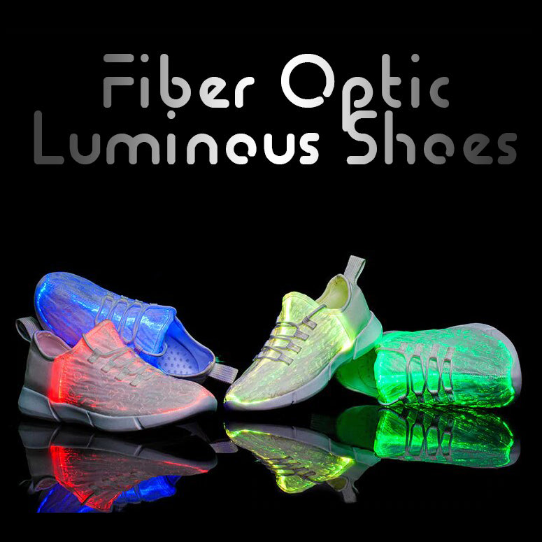 Fiber Optic Luminous Shoes