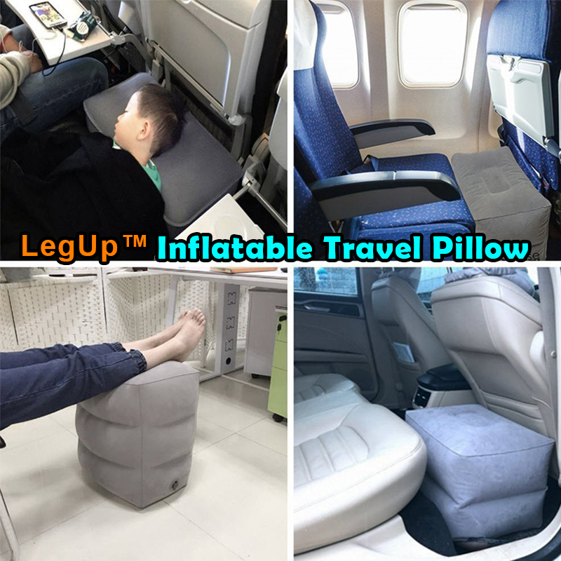 LegUp™ Inflatable Travel Pillow