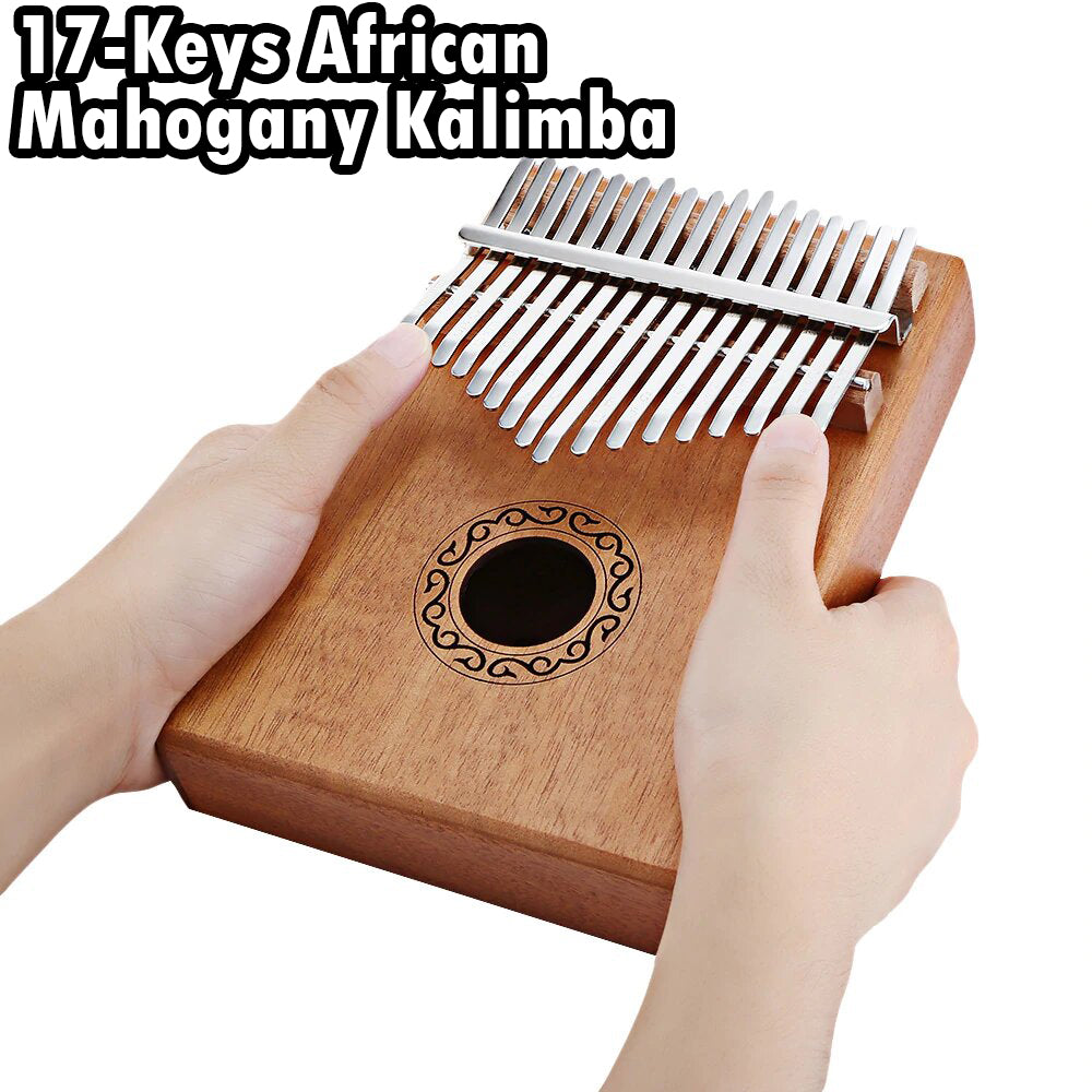 17-Keys Kalimba Thumb Piano
