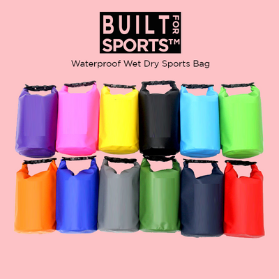 Built For Sports™ Waterproof Wet Dry Sports Bag