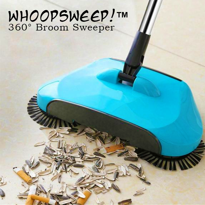 WhoopSweep!™ 360° Broom Sweeper