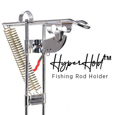 HyperHold™ Fishing Rod Holder